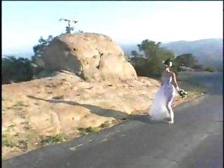 Hot bride finds her two new dicks