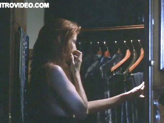 Redhead Celeb Angie Everhart Exposes Her Big Round Jugs