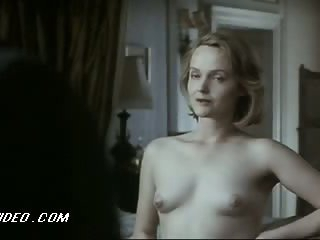 Sensual Miranda Richardson Shows Her Perky Boobies in a 'Damage' Scene