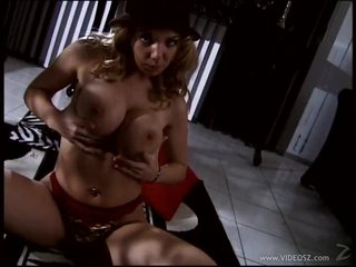 Bonerific Blonde MILF Kiki Daire Tit Fucks a Cock With Her Round Boobs
