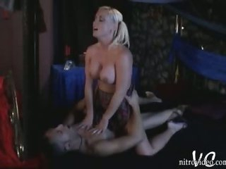 Busty Blonde Babe Calli Cox Gets Fucked Doggy Style In a Short Skirt