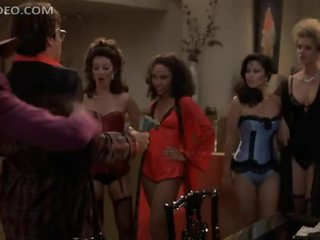 Fran Drescher and Lots Of Hot Babes Dancing In Really Sexy Lingerie