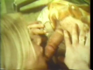 Blond Couple Getting Off In Sexy Retro Vid