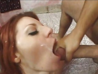 Filthy Kayla Cam gets drenched in hot cock juice