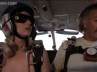 Angela Aames Skydiving Topless