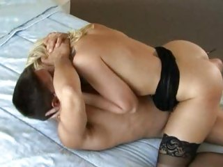 Sassy Alexis Texas rides her snatch on a huge meat pole