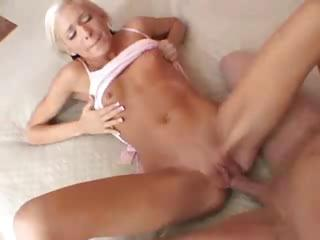 Teen Blonde Creampie