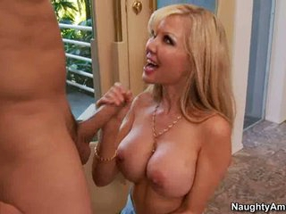 Cindy Pucci horny neighbor wanking of hard cock