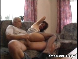 Mature amateur wife homemade fucking with cumshot