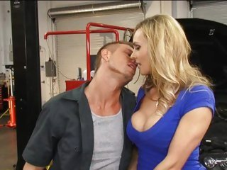 Horny Tanya Tate makes out with this hot hunk