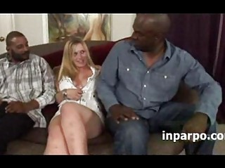 Desire Kummin shared in hot interracial fuck