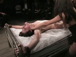 Tied and used in public (Kink » Public Disgrace)