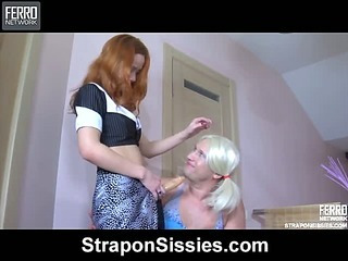 Salome&Adrian vivid sissysex action