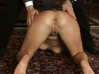 Student and sexy professor punished and fucked in servitude.