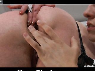 Buxom aged rides up her dress to get her backdoor cushions pushed hard