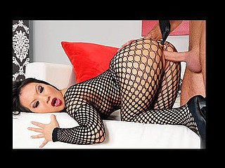 Asa is looking good. It's her first time on Large Wet Butts, and this babe does not frustrate. First this babe shows up wearing no thing but a sexy, watch-throughout fishnet body stocking, and if that's not sufficiently, her ally brings her a recent toy to play with. It's going to be a fun day filled with oil, a gorgeous arse, and some unfathomable anal fucking.