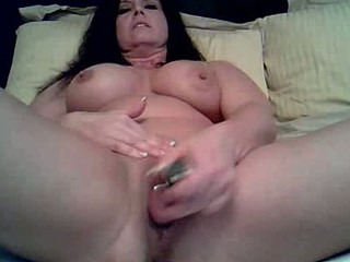 Mature slut likes being alone so she can use her vibrating dildo to fuck her wet pussy in this amateur masturbation movie clip. Watch her treat her pussy to a fucking session on her own.
