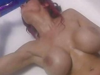 Big tit babe shower scene