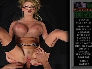 Taylor Wayne is a yummy secretary who receives her boss' cock