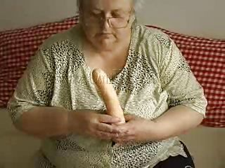 Old lady is being a bit naughty here which you can find out looking at her activities here. This slutty grandma is stripping and rubbing her saggy tits slowly. Then she finds a dildo and touching it to her whole body and trying to suck it roughly. Is it going to satisfy her or she will need a real one?