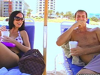 This week on can this guy score, we have the gorgeous Melissa Lauren trying out her luck with one of our average local guys on a blind date. Melissa hasn't gone on a date in quite some time, so this babe decided to say 'what the hell' and watch if a regular dude has what it takes to legitimately get in her pants. John Hancock is an average Joe from Fort Lauderdale, Florida, and this chab is thrilled to do what each stud in America and possibly around the world would give his left nut for. ThatтАЩs to go on a date with a random porn star. What Joe doesn't know is that we are setting him up with Melissa Lauren, can that guy sore? YouтАЩll have to watch to find out.