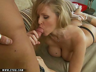Super MILF Julia Ann is looking as sexy as ever and she just keeps getting hotter with each passing year.  She's got a big rack that can get any guy hard, and she's always in the mood to get a good ham slamming in whatever position her man desires.