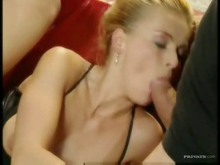 She loves to moan during her DP