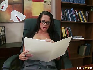 Hardcore Sex With The Principal Savannah Stern In Her Office
