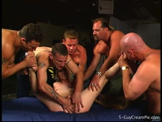 Sharon wild gang banged by 5 guys