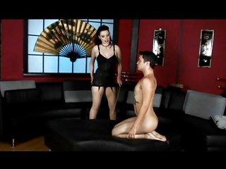 Mistress has a good male maid